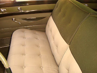 1953 Cadillac Coupe Deville Seat Front