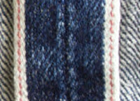 redline selvedge jean stitching
