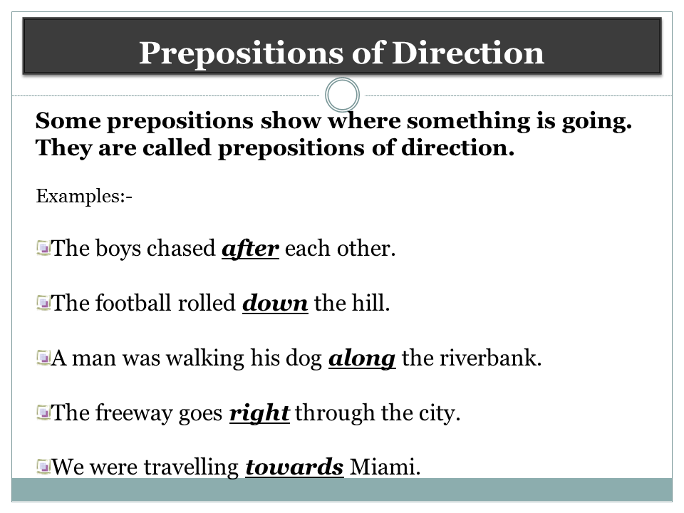 Prepositions of Place in English – Espresso English