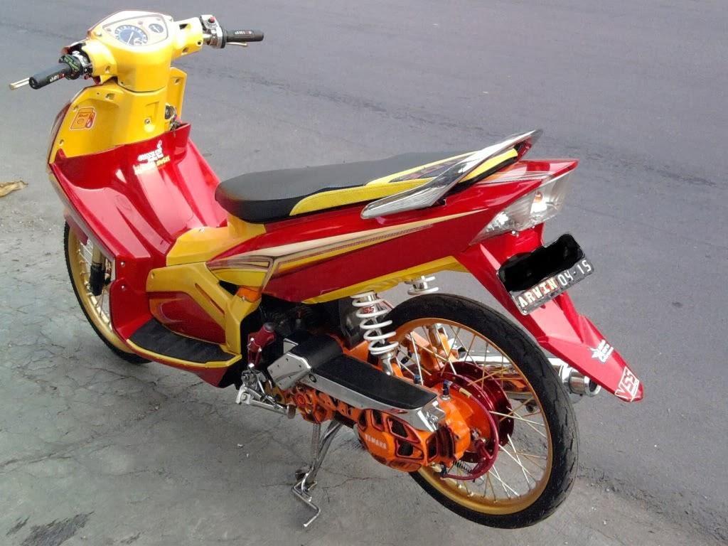 Modifikasi Motor Nouvo Z