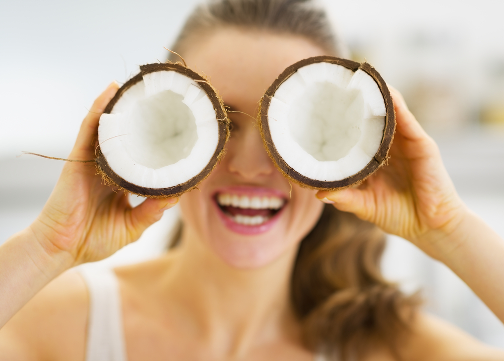 coconut oil for beauty