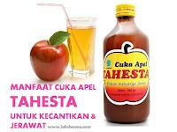 Manfaat Cuka Apel Tahesta untuk Kecantikan Wajah dan Jerawat