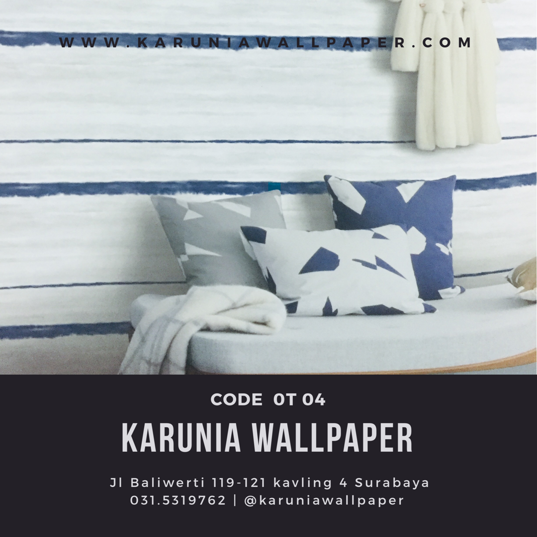 jual wallpaper dinding garis surabaya