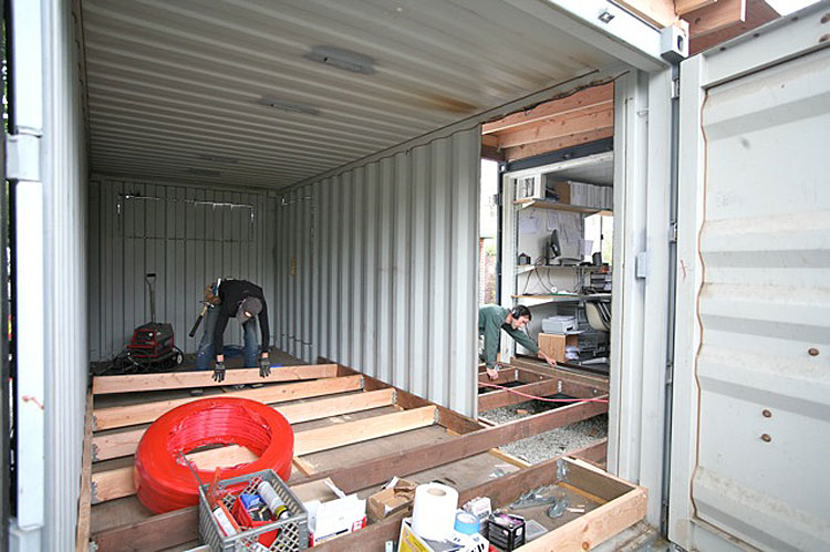 Shipping Container Homes May 2012