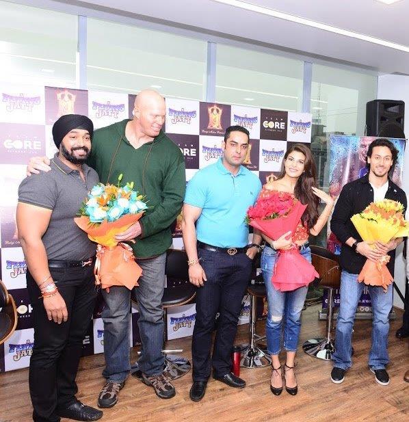 Tajinder Singh, Nathan Jones, Ankush Grover, Jacqueline Farnandez & Tiger Shroff