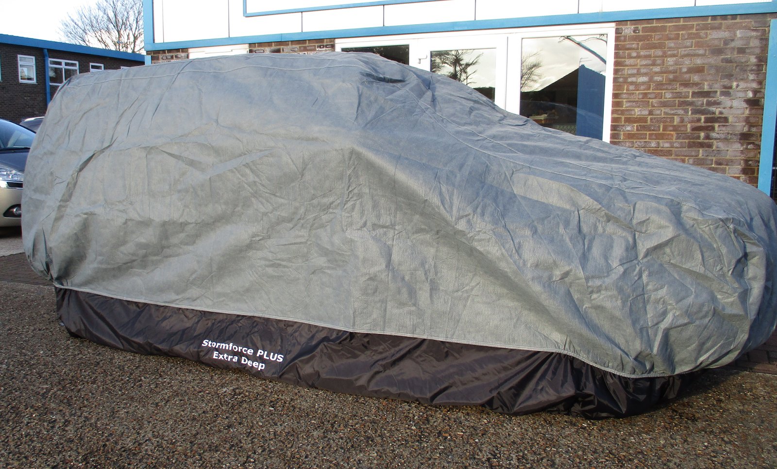 ... Layer Stormforce Cover by the factory its a bespoke hand finished improvement where an extra deep 360 degree hemline skirt is added to the cover ... & The Car Cover Blog