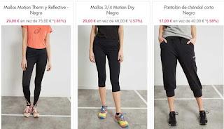 mallas y pantalones de deporte para mujer de Asics