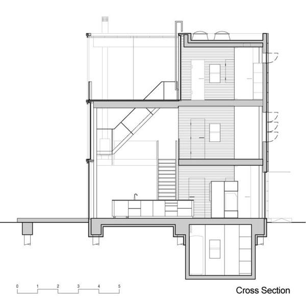 Hogares frescos casa moderna en las afueras de amsterdam for Casa moderna kw