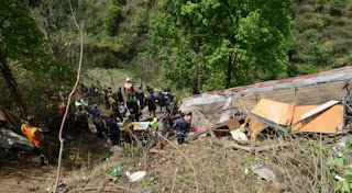 At least 31 injured in bus accident in Nepal