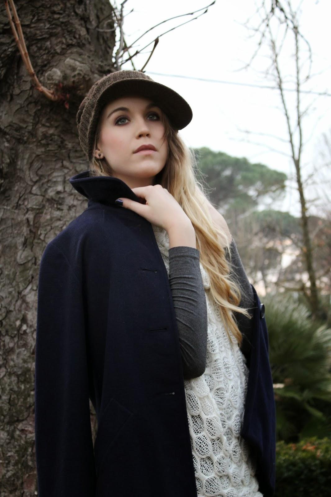 beanie with visor