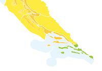 Izraženiji pljuskovi s grmljavinom, narančasti stupanj upozorenja slike otok Brač Online