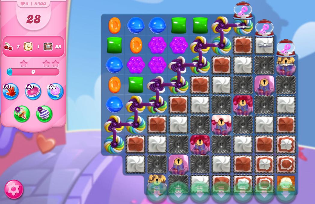 Candy Crush Saga level 5900