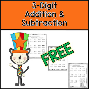 FREE 3-Digit Addition & Subtraction