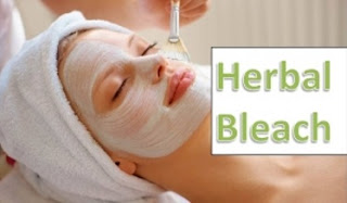 Safe Herbal bleach for face at home
