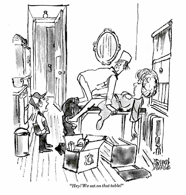 a Brian Savage cartoon for National Lampoon Magazine