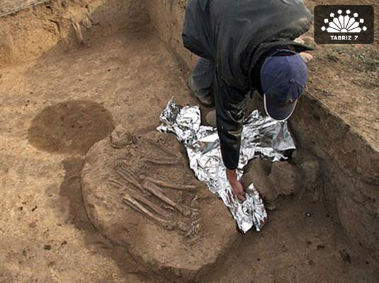 Kurgan burial excavated in NW Iran