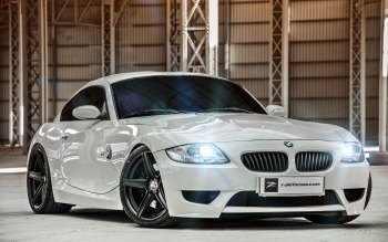 Wallpaper: Automotive. Hot Car. Auto. BMW Z4 M Coupe