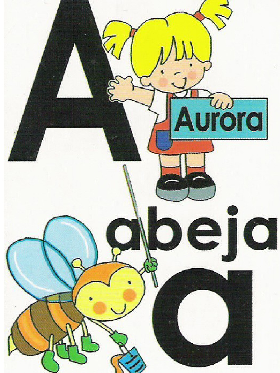Infantil Y Primaria Abc Tamaño Carta Listo Para Imprimir