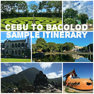 Cebu to Bacolod Itinerary 2D1N