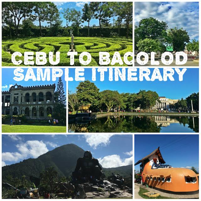 Cebu to Bacolod Sample Weekend Itinerary