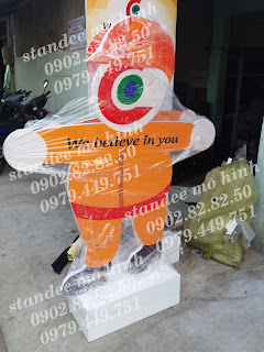 sản xuất standee