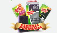 Promoção Esponja Premiada Scotch-Brite esponjapremiada.com.br