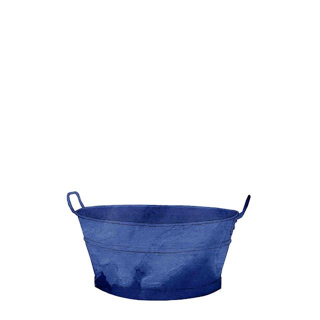 azulejo, ceramica azul, barreño