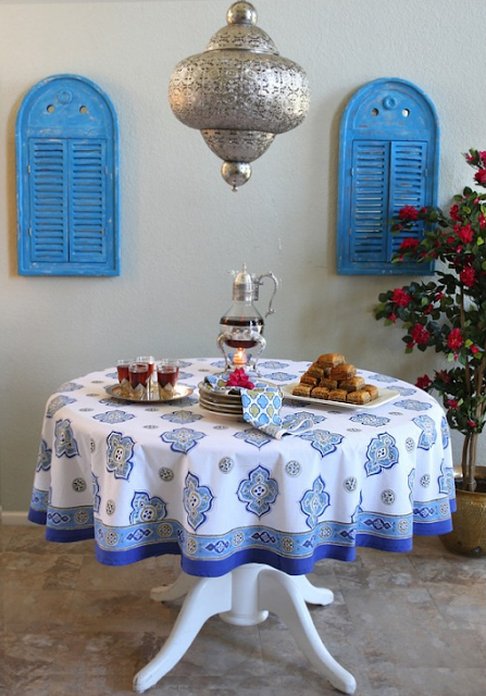Buy Printed Round Table Linen online