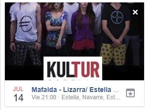 Concierto- Evento Facebook