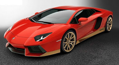 Lamborghini Aventador Safety: engine immobilizer, ABS, Rear Camer