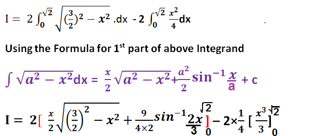 HOW TO FIND AREA OF THE CIRCLE  WHICH IS INTERIOR TO THE PARABOLA