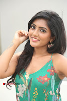Actress Eesha Latest Pos in Green Floral Jumpsuit at Darshakudu Movie Teaser Launch .COM 0145.JPG