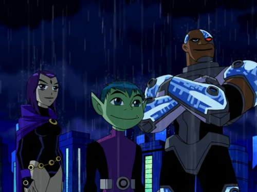 Teen Titans Things Change