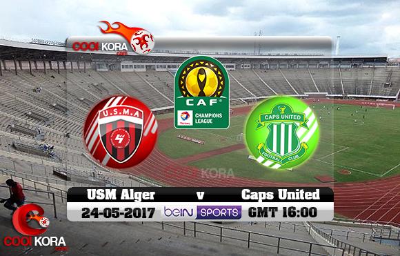 مشاهدة مباراة كابس يونايتد و إتحاد الجزائر اليوم 24-5-2017 دوري أبطال أفريقيا