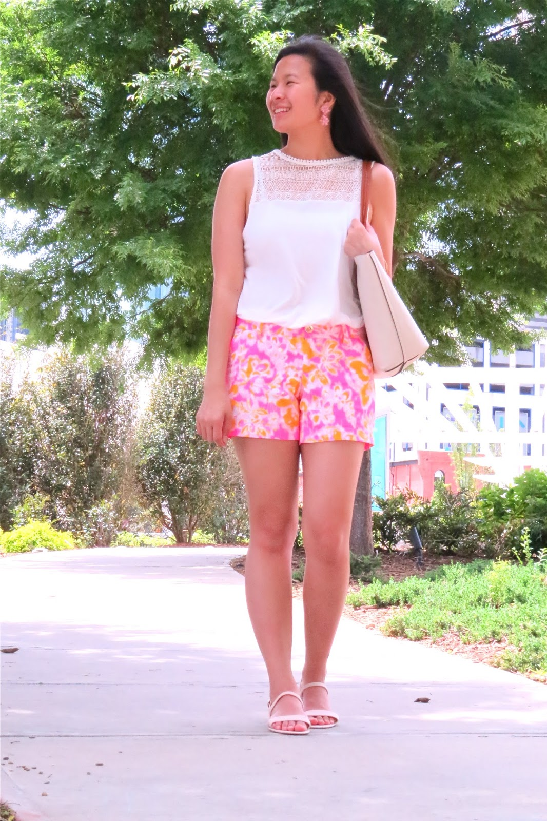 Styling_lilly_pulitzer_ shorts