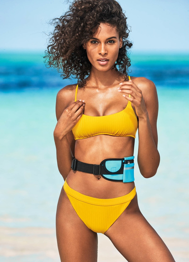 Cindy Bruna for Calzedonia Swim 2019