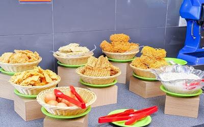 Seoul Garden Buffet Noodle Selection