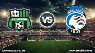 مشاهدة مباراة أتلانتا وساسولو Atalanta vs US Sassuolo Calcio بث مباشر بتاريخ 20-12-2017 كأس إيطاليا