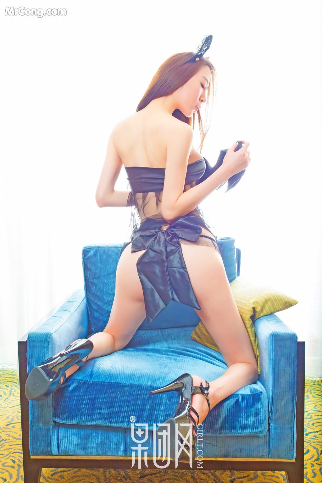 Image GIRLT-No.133-Meng-Xin-Yue-MrCong.com-008 in post GIRLT No.133: Người mẫu Meng Xin Yue (梦心月) (46 ảnh)