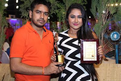 बेस्ट एक्ट्रेस अवार्ड से सम्मानित प्रियंका पंडित | Best Actress Award of Priyanka Pandit