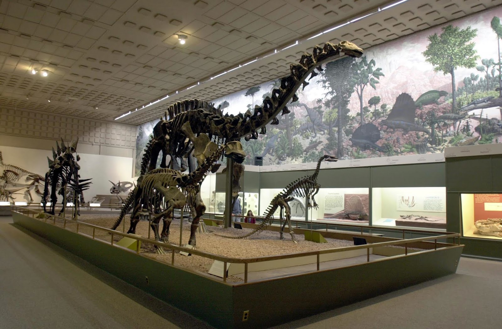 Biological Freak: 略談科博館恐龍廳的電動機械恐龍們 09-11-2018