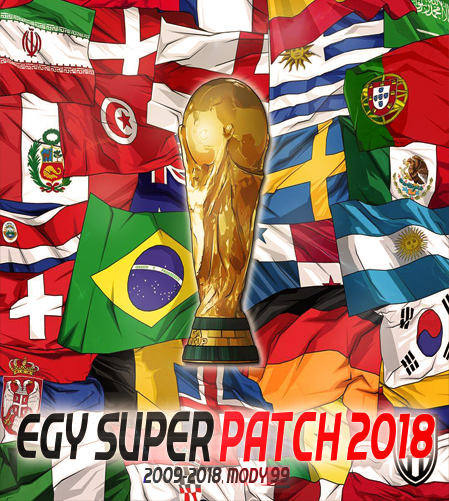 Patch PES 2018 Terbaru dari EGY Super Patch WC 2018 Edition