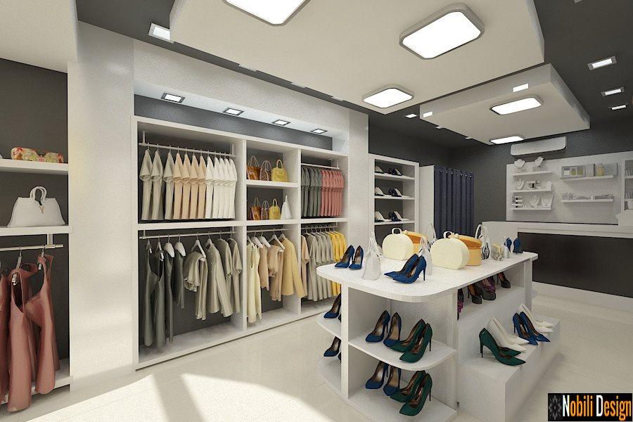 Design interior magazin haine - incaltaminte / Bacau - Roman - Adjud