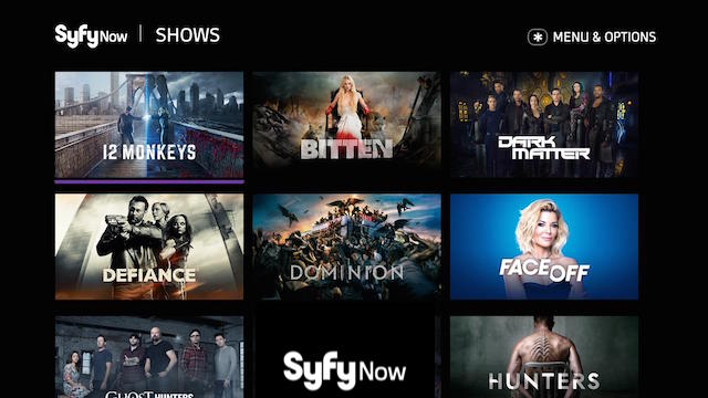 SyfyNow Roku Channel