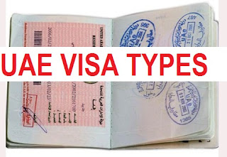 Types and requirments of uae visa's