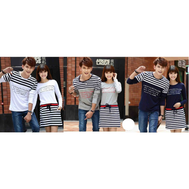 Jual Dress Couple LP Dress Abjad - 22893