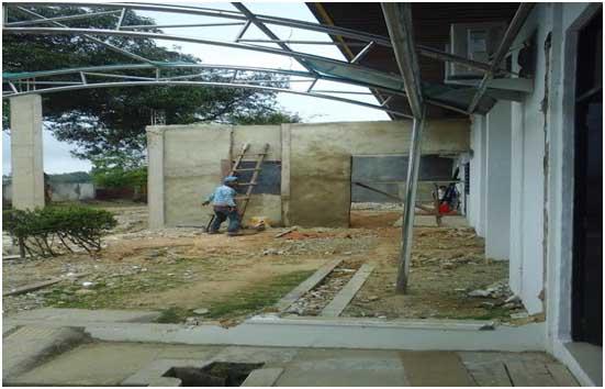 Proyek Renovasi Bangunan Pemko Batam Diduga Miliki Unsur Kolusi