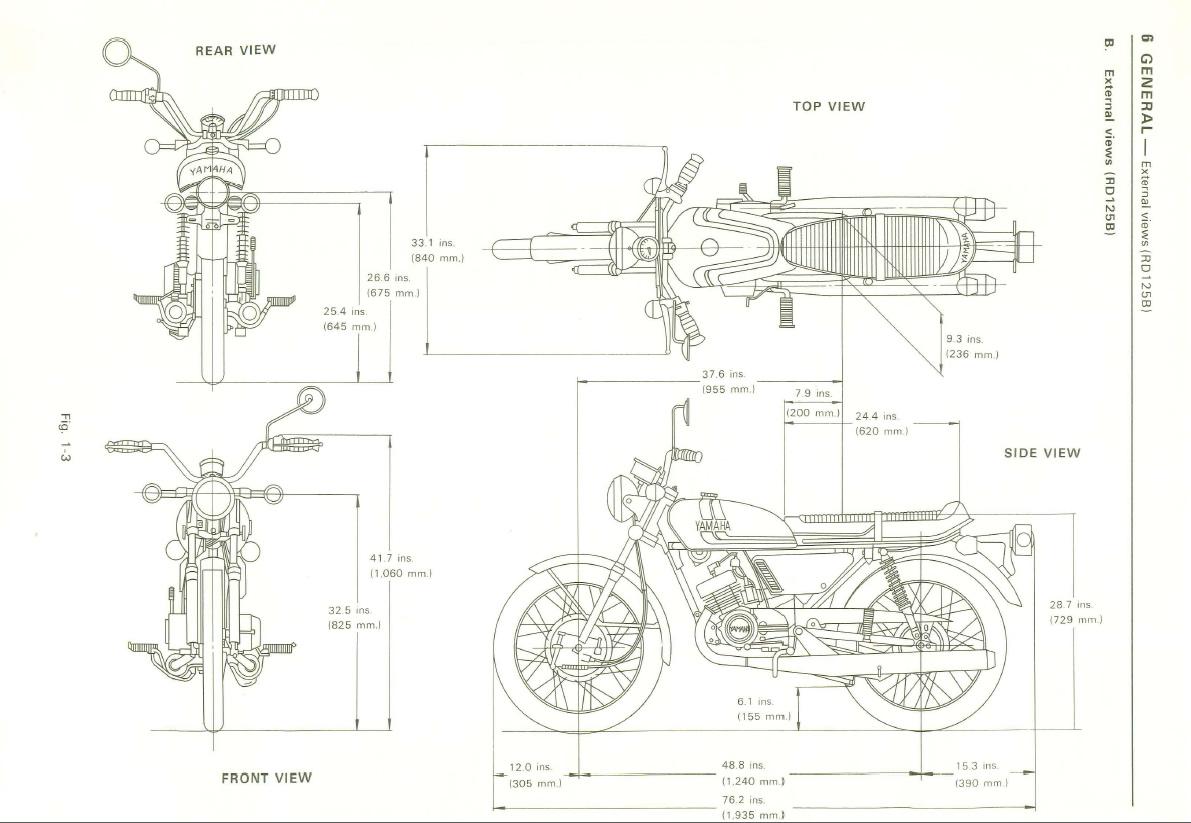 Restoration Yamaha Rd125 A Yamaha Rd125