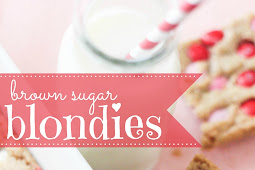 Easy Brown Sugar Blondies Bars Recipe