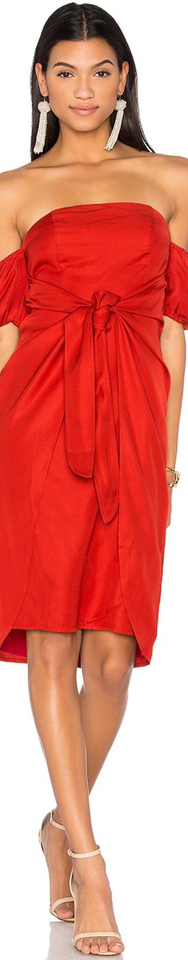 LPA-DRESS 146 SHOWN IN RED